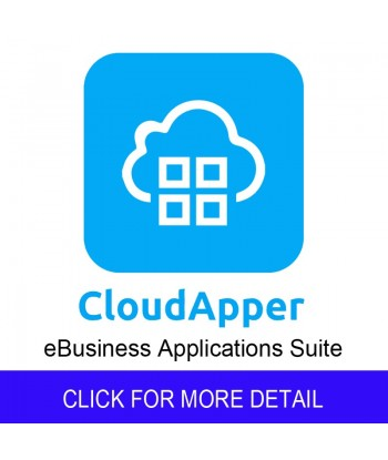 CloudApper eBusiness Apps-(monthly subscription)